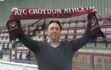 Croydon Athletic's Kevin Rayner has enjoyed an inspired start as manager