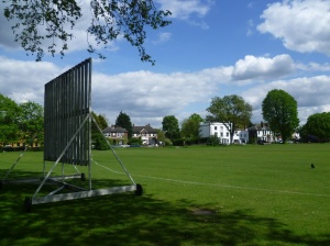 Cricket has been played at Mitcham Cricket Green for more than 300 years