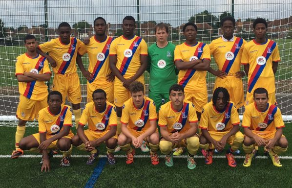 The CPFC Foundation academy teams were wearing rainbow laces in their boots at their matches on Wednesday to show their support for Stonewall's campaign