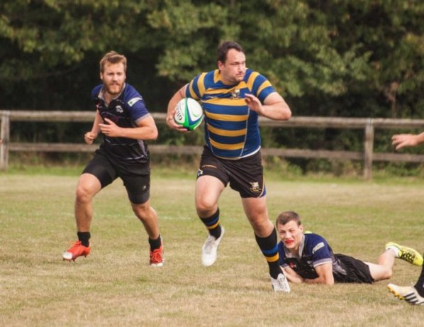 It took a last-minute try to win the game for Purley John Fisher against Old Mid-Whitgiftians last Saturday