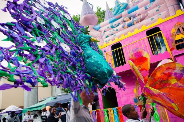 The carnival procession brought a splash of September colour to Thornton Heath. Photo: Lee Townsend