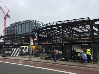 Boxpark's ready to open, nearly five months late. That's five months' rent lost for the owners