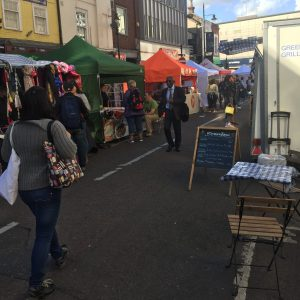 With each passing week, traders have not noticed any improvement in the number of visitors to Surrey Street on Sundays