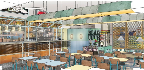 How the interior of Turtle Bay in Croydon may look