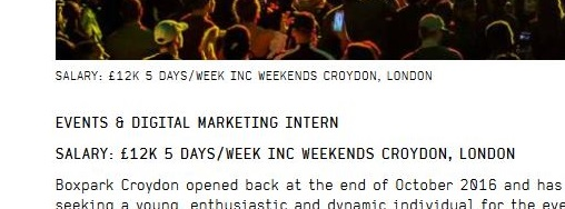 How Boxpark's low-pay job ad appeared on Friday