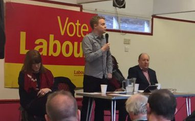 Corbyn policy adviser, and Croydon resident Andrew Fisher, sharing a platform at a policy debate at Ruskin House earlier this month with Tony Newman, leader of Croydon Council