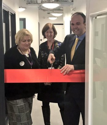 Barwell in Crisis: the housing minister can cut red ribbon. His government has failed to cut homelessness