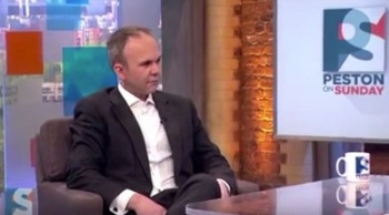 Ill at ease: Gavin Barwell's image consultant needs to work harder to make this public school-educated Cambridge graduate career politician appear like a man of the people