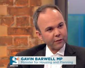 'We really don't intend to build on Green Belt. Honest': Nimby MP Gavin Barwell's political career depends on the housing bill