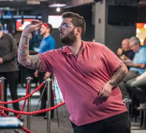 Croydon darter Pilgrim takes on the game's biggest names at the UK OOPen next week. Photograph: Lamo the Lion Photography