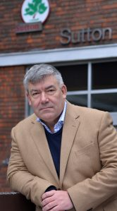 Sutton Tories' leader Tim Crowley: wants answers from council CEO