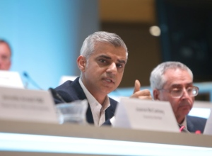 London Mayor Sadiq Khan: resisted a face-palm over one of the AMs' ignorance of local geography