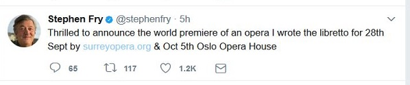 Fry's tweet