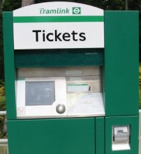 how to use tram with go card