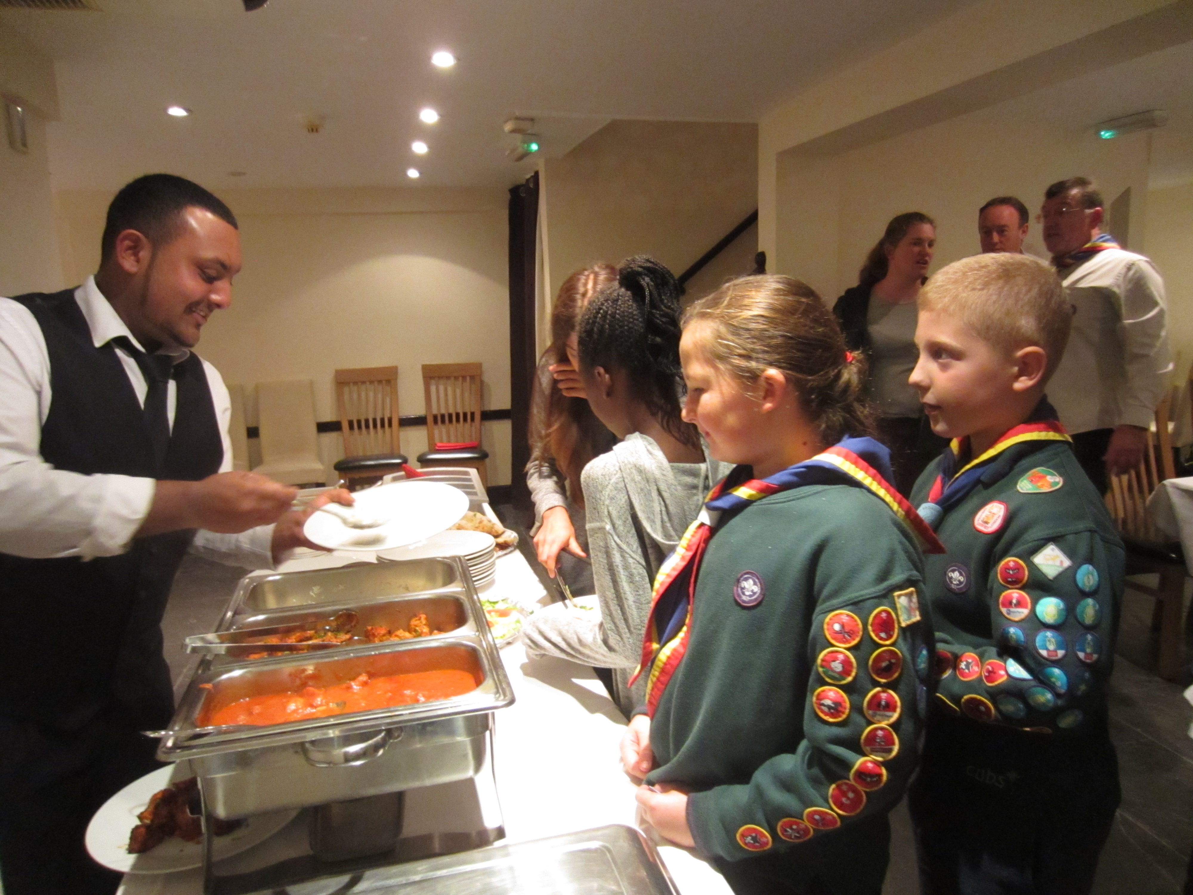 Cubs get to cook up a treat at Kenley's Indian restaurant