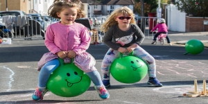 Council killjoys ban bikes and scooters from play street