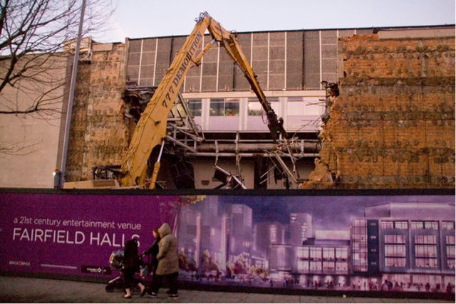 Newman: Fairfield Halls won't be ready to open until 2019