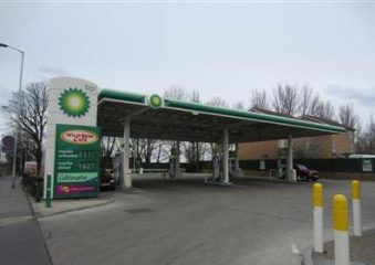 Driver faces threat of £100 fine for shopping at BP petrol station