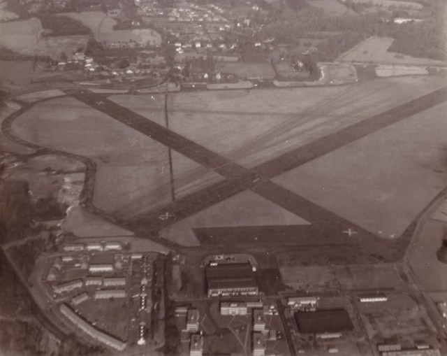 Guided history walk around RAF Kenley's airfield, Aug 20