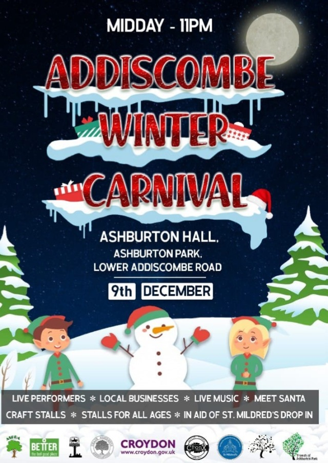 Addiscombe Winter Carnival, Ashburton Hall, Dec 9