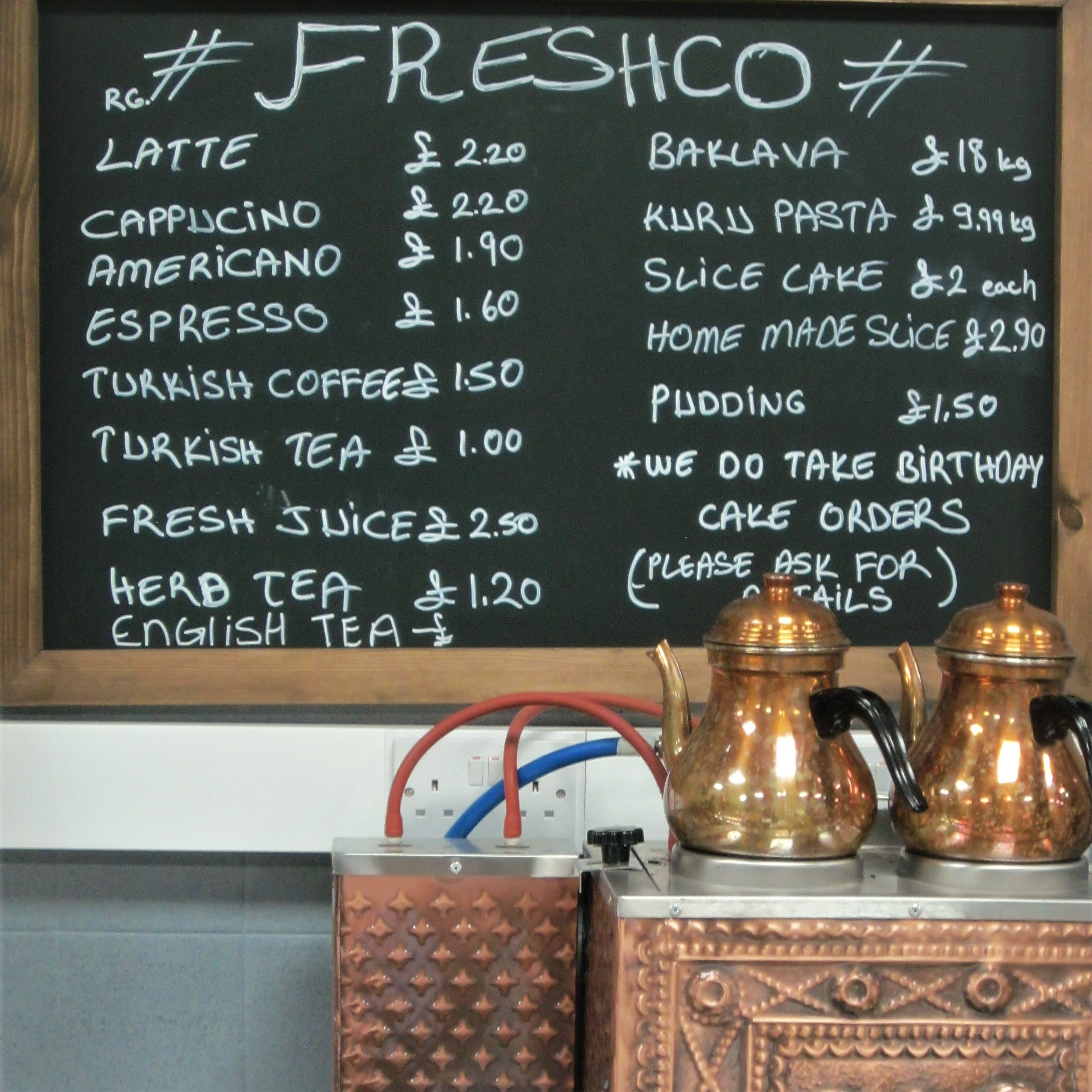 Turkish flavours provide some added spice on the high street