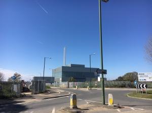 Beddington incinerator Apr 2019