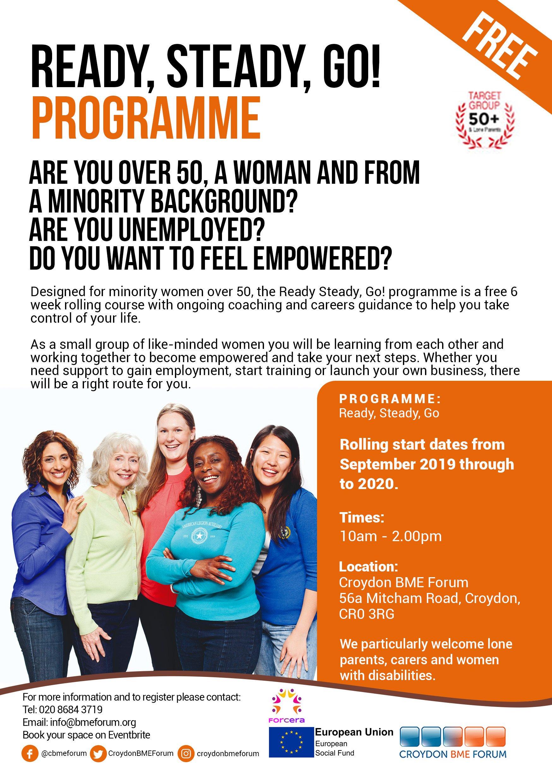 Ready, Steady, Go! programme, Croydon BME Forum | Inside