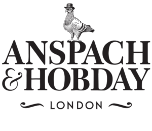 anspach and hobday pigeon logo